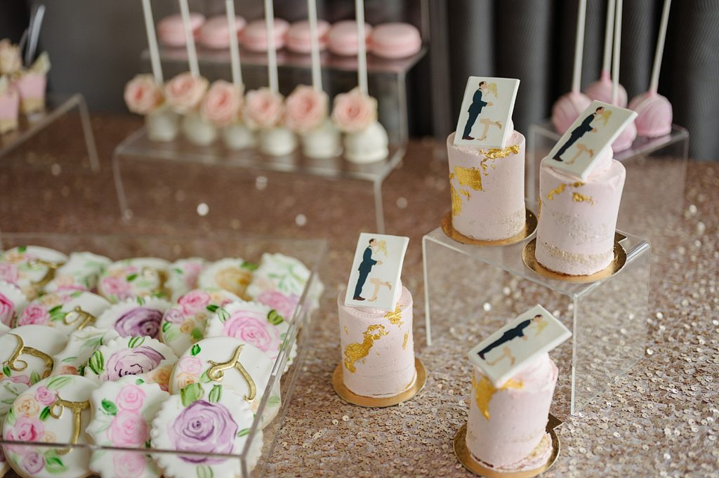 Floral Inspired Bridal Shower in the Time of COVID. For more COVID wedding planning ideas, visit burghbrides.com!