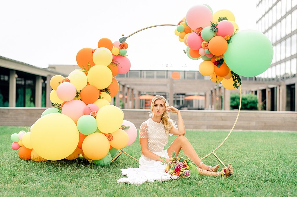Summery Citrus Wedding Inspired Styled Shoot. For more summer wedding ideas, visit burghbrides.com!