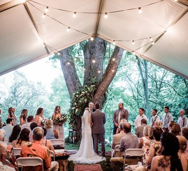 6 Things to Consider When Planning a Backyard Wedding. For more wedding planning ideas, visit burghbrides.com!