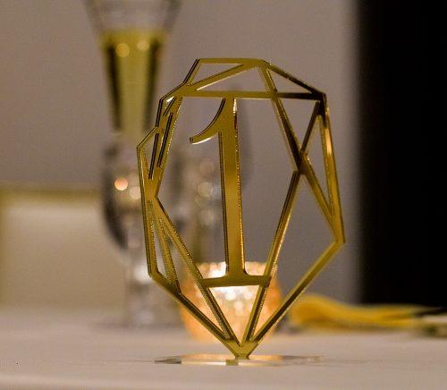 Uniquely Modern Hotel Monaco Wedding. For more modern wedding ideas, visit burghbrides.com!