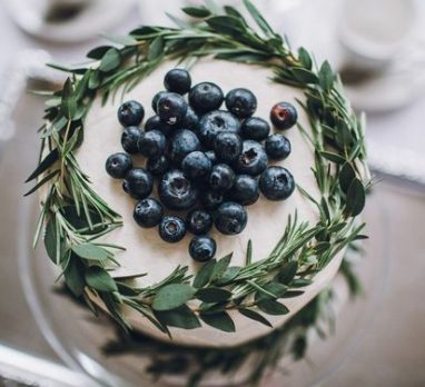 Blueberry Wedding Inspiration. For more wedding color ideas, visit burghbrides.com!