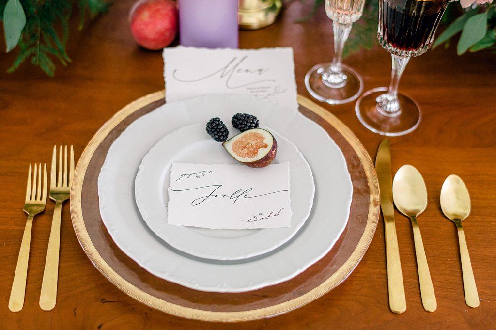 Feminine & Refined Wedding Inspired Styled Shoot. For more elegant wedding inspiration, visit burghbrides.com!