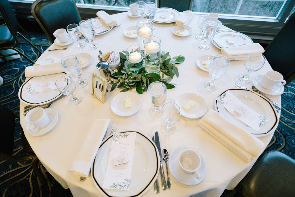 Irish Inspired Wedding at the LeMont. For more emerald green wedding ideas, visit burghbrides.com!