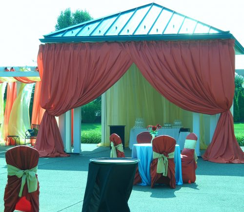 Gray Phoenix - Pittsburgh Wedding Lighting & Draping Company & Burgh Brides Vendor Guide Member
