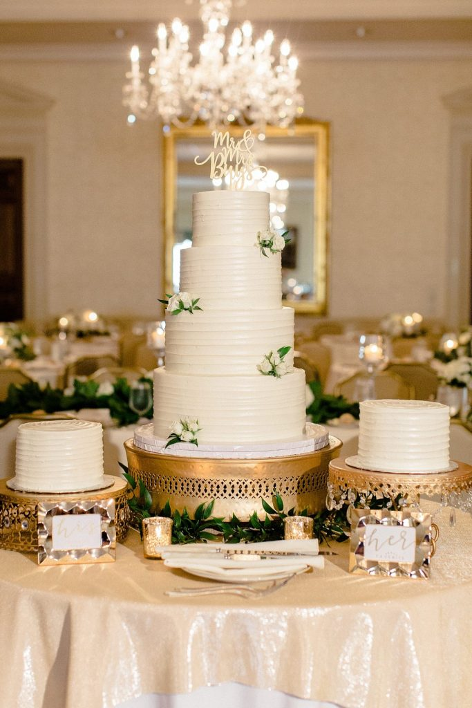 The Most Sinfully Sweet Pittsburgh Wedding Cakes of 2020. For more wedding inspiration, visit burghbrides.com!