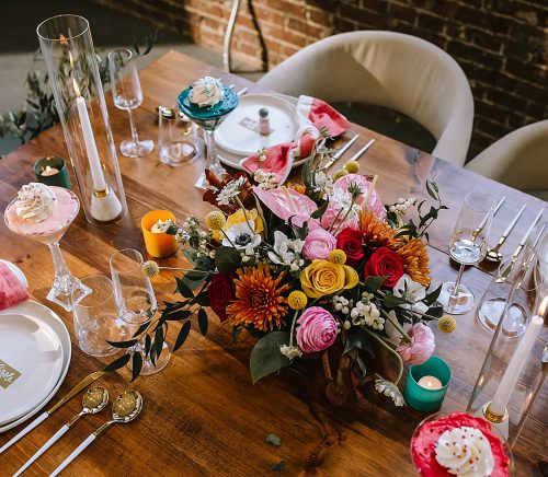 Whimsical Wedding Ideas Inspired by Make Believe. For more colorful wedding inspiration, visit burghbrides.com!
