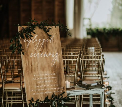Dreamy Copper & Greenery Wedding at Irons Mill Farmstead. For more rustic wedding ideas, visit burghbrides.com!
