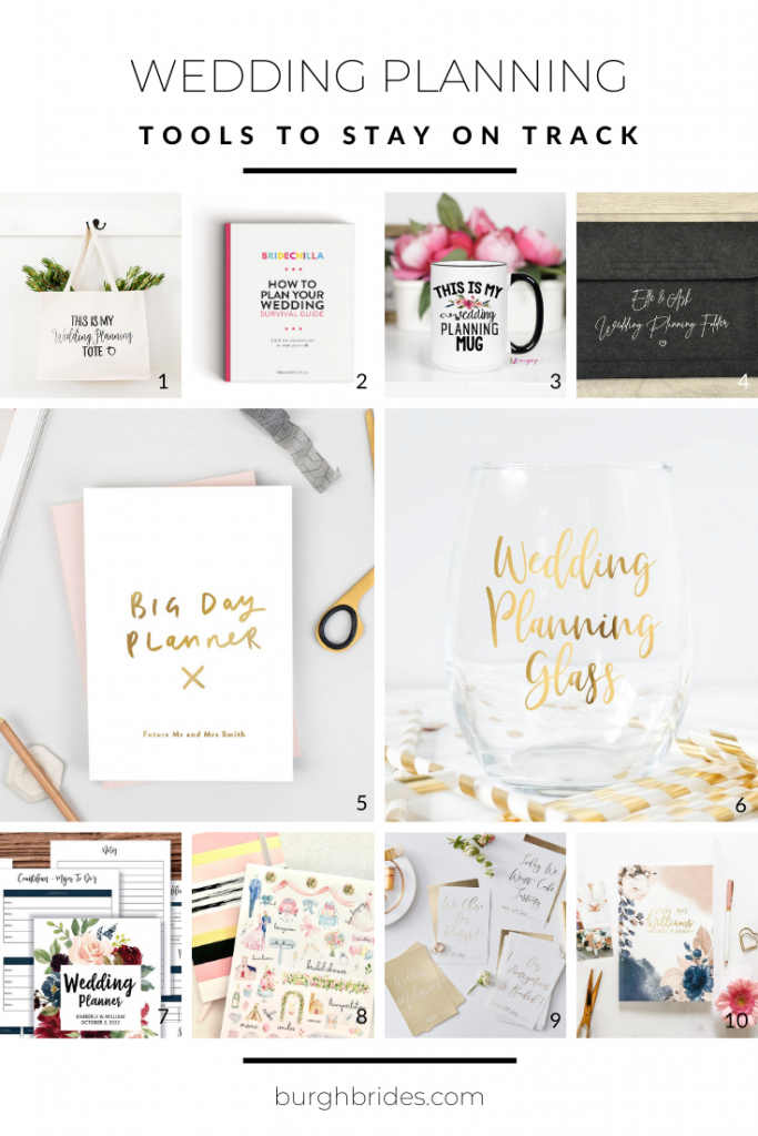 Useful Wedding Planning Tools To Help You Stay Sane. For more wedding planning tips, visit burghbrides.com!