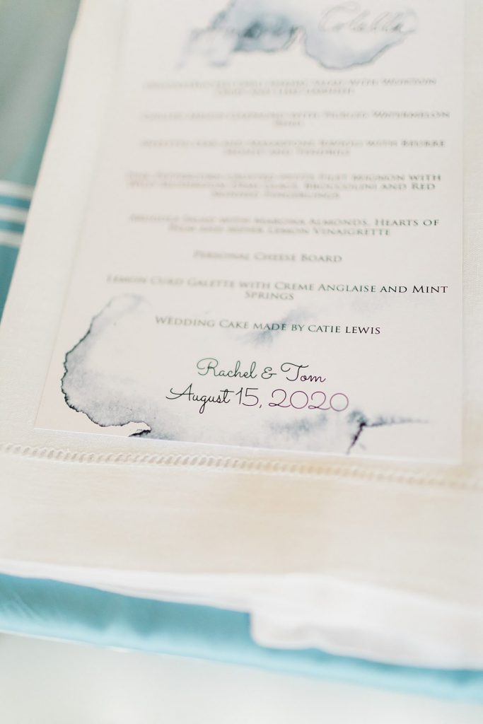 Whimsical Watercolor Backyard Wedding. For more small wedding ideas, visit burghbrides.com!