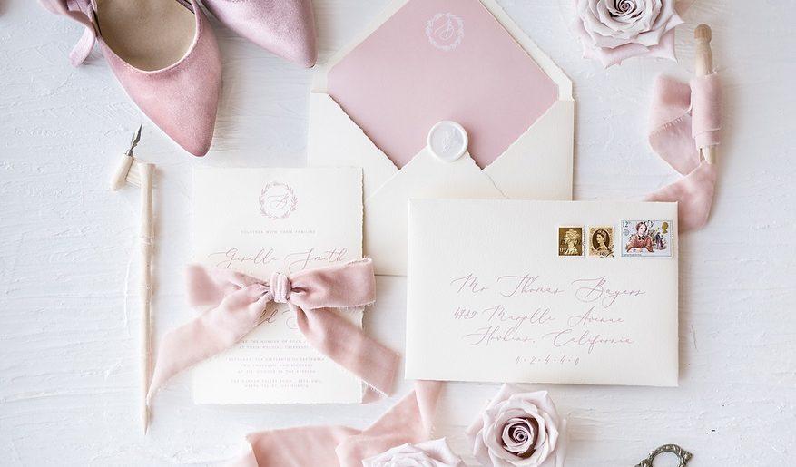 Cherry Blossom Wedding Inspiration. For more blush pink wedding ideas, visit burghbrides.com!