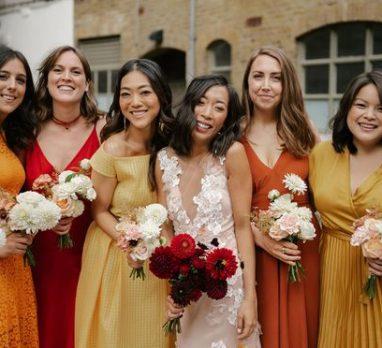 Colorful Industrial Wedding Inspiration. For more wedding style inspiration, visit burghbrides.com!