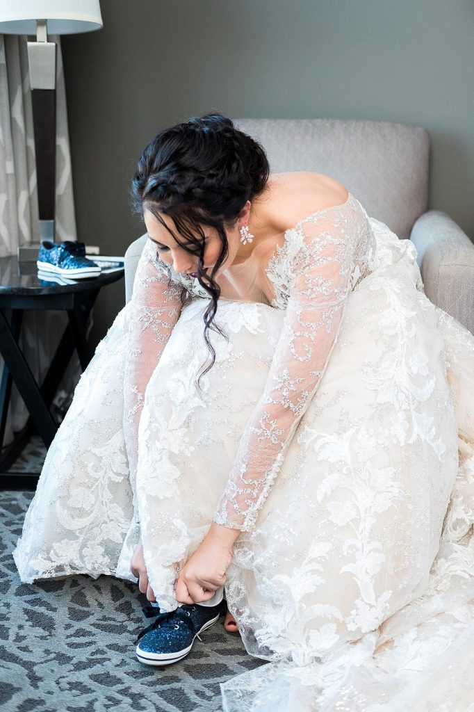 """7 Ways to Wear """"Something Blue"""". For more wedding traditions, visit burghbrides.com!"""