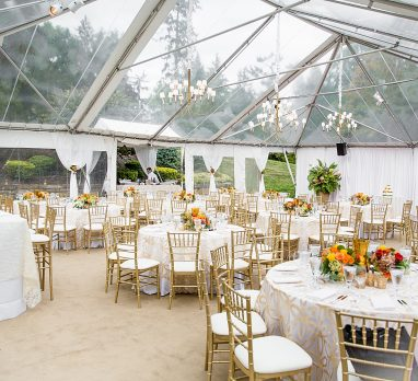 Stylish Tented Wedding with All the Fall Colors. For more fall wedding ideas, visit burghbrides.com!