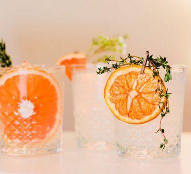 Playful Pink & Orange Wedding Inspiration. For more wedding color palette ideas, visit burghbrides.com!