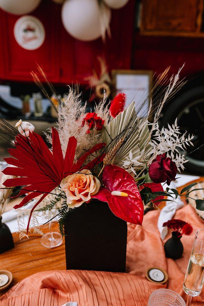 Bold Boho Bridesmaids Picnic Celebration. For more boho wedding ideas, visit burghbrides.com!